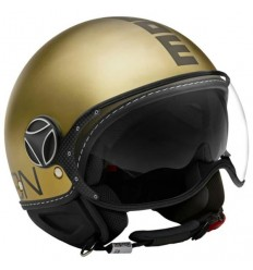 Casco Momo Design Fighter EVO Limited oro e nero